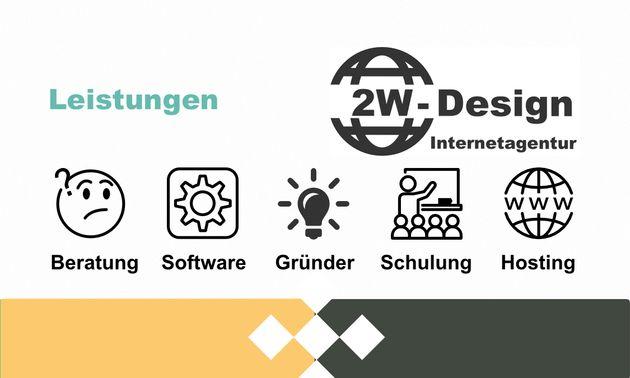 Kostenlose Vorlage Visitenkarte als PSD Datei | 2W-Design ...